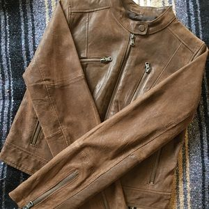 LEVI'S Vintage Brown Leather Jacket